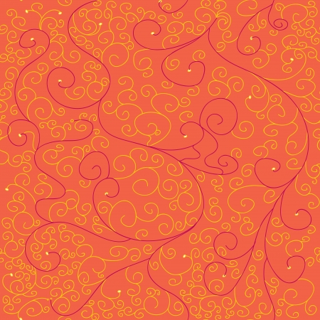 Seamless vector texture with abstract swirls Vector
