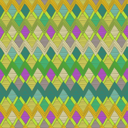 ethno: Seamless vector background with tribal abstract pattern
