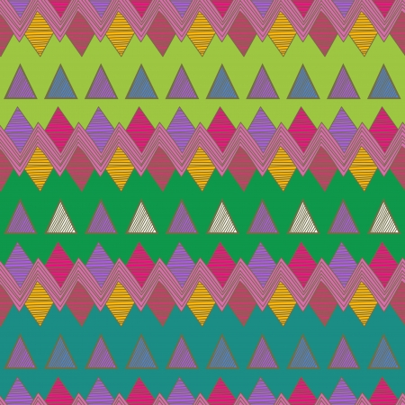 turquiose: Seamless vector background with tribal abstract pattern