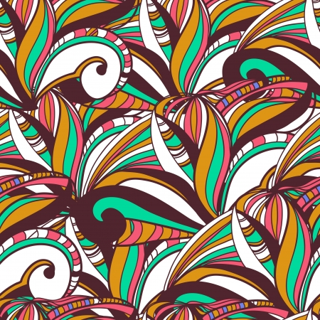 turquiose: Seamless vector texture with abstract swirls