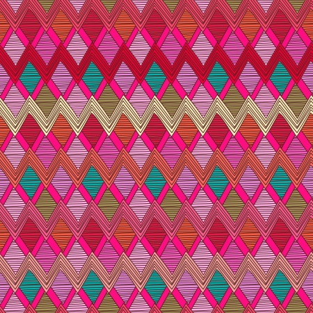 turquiose: Seamless background with tribal abstract pattern