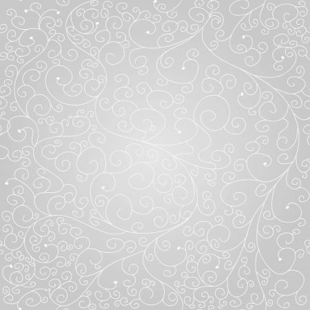 Seamless texture with drawing swirls Vector