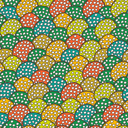 tilling: Abstract seamless multicolored vector background Illustration
