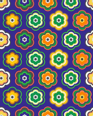 seamless floral: Seamless floral vector pattern Illustration