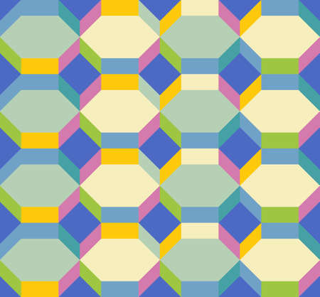 multicolored: Abstract seamless multicolored texture Illustration