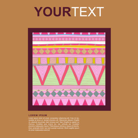whitern: Abstract vector tribal background