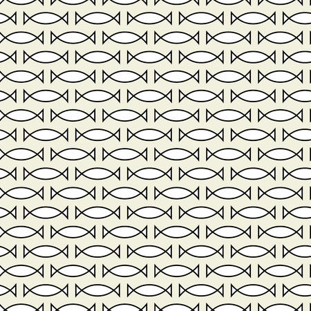 tilling: Abstract seamless monochrome texture Illustration