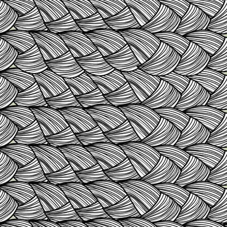 monochrome: Abstract seamless monochrome vector background
