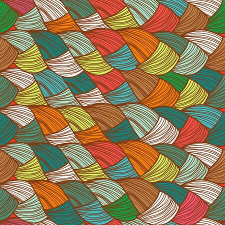 multicolored: Abstract seamless multicolored vector background Illustration