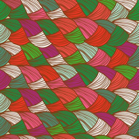 whitern: Abstract seamless multicolored vector background Illustration