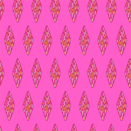 Geometric pattern / Abstract seamless vector texture with geometric pattern / Vector pattern / Vector texture. Wallpaper, cloth design, fabric, paper, cover, textile. Hand Drawn texture with geometric figure Illusztráció