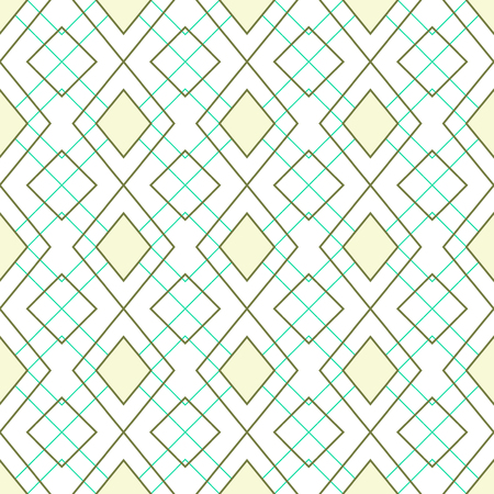 Geometric pattern / Abstract seamless vector texture with geometric pattern / Vector pattern / Vector texture. Wallpaper, cloth design, fabric, paper, cover, textile. Hand Drawn texture with geometric figure  イラスト・ベクター素材