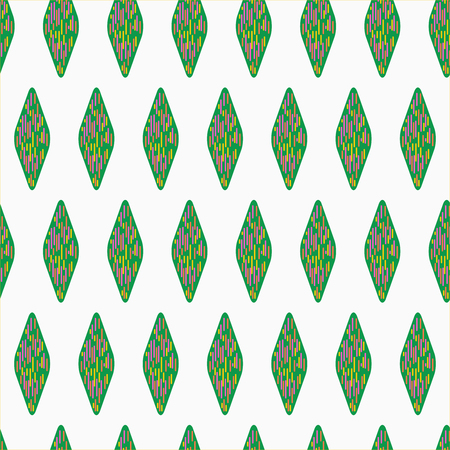 Seamless vector texture with geometric pattern