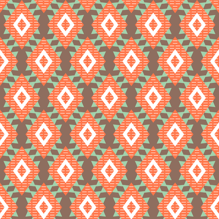 Geometric pattern / Abstract seamless vector texture with geometric pattern / Vector pattern / Vector texture. Wallpaper, cloth design, fabric, paper, cover, textile. Hand Drawn texture with geometric figure 矢量图像