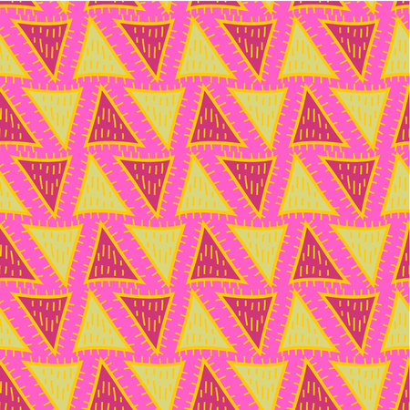 Geometric pattern  Abstract seamless vector texture with geometric pattern  Vector pattern  Vector texture. Wallpaper, cloth design, fabric, paper, cover, textile. Hand Drawn texture with geometric pattern