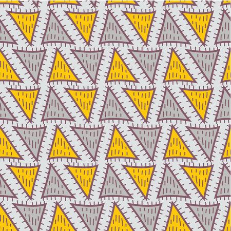 slavonic: Geometric pattern  Abstract seamless vector texture with geometric pattern  Vector pattern  Vector texture. Wallpaper, cloth design, fabric, paper, cover, textile. Hand Drawn texture with geometric figure