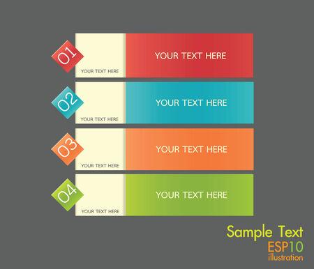 Sample text Illustration