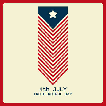 memorial: abstract independence day background with special objects