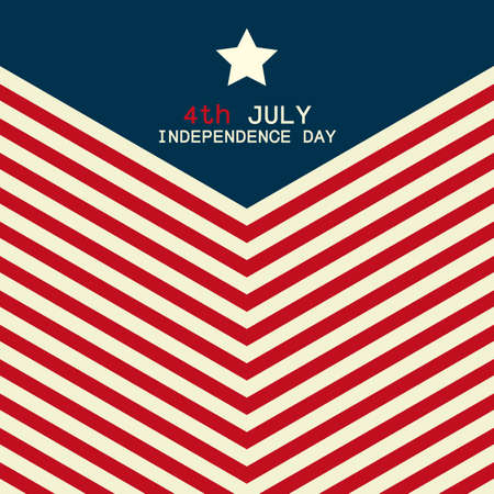 patriotic: abstract independence day background with special objects
