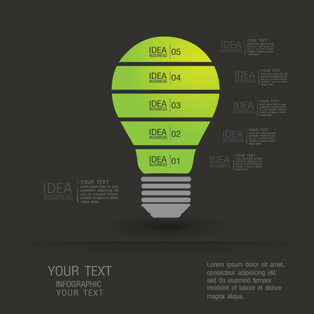 business idea concept illustration. Illustration