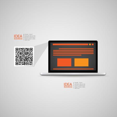 adaptive: Adaptive and responsive web design icon set - Illustration