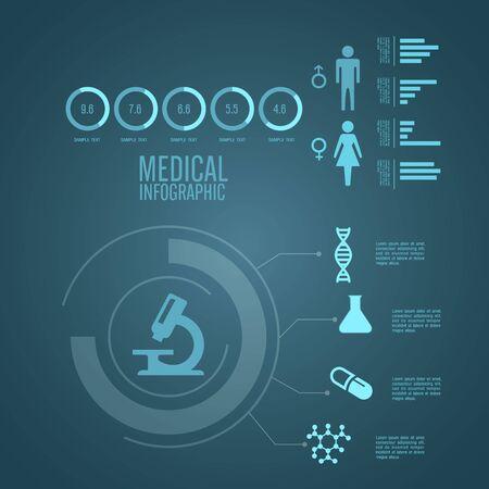 pharmacy symbol: Medical Infographics