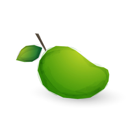 venereal: watercolor mango fruit Illustration