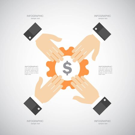 pinion: Business and Marketing Concept Illustration