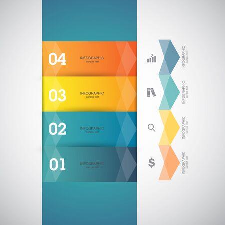 business performance: Business infographics template. Vector illustration. Illustration