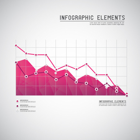 Set of different graphs and charts  Иллюстрация