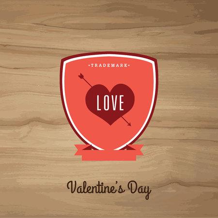 oldfield: Valentines dayVector set vintage labels