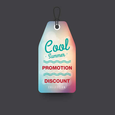 tally: Summer Sale collection. Vector background.
