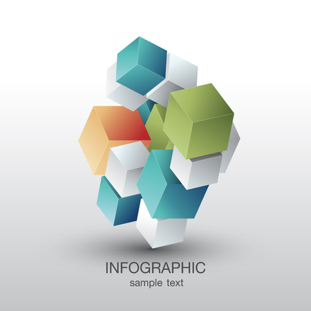 Business and Marketing infograph icon Vector Illustration