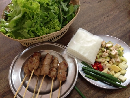 Thai style Nam Nueng a healthy Vietnamese food
