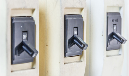 interrupt: Switch cuts power,A device to interrupt the electric power.