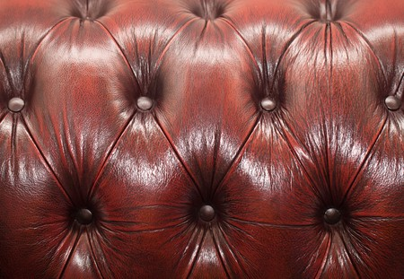 red-brown button-tufted leather background Stock Photo - 7760374