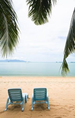 sitting on the beach Stock Photo - 7969457