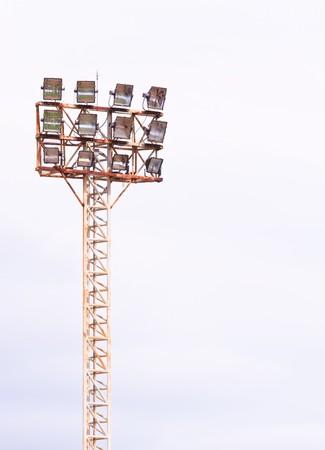 soccer field spotlight photo