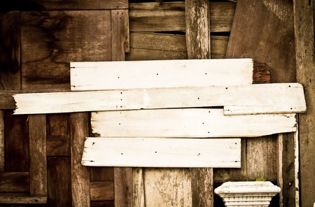 wood texture for make your sign Stock Photo - 7969474