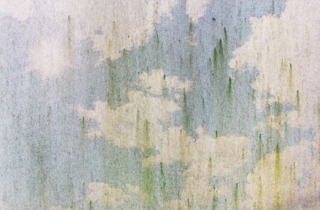 grunge fabric with blue sky Stock Photo - 8556422