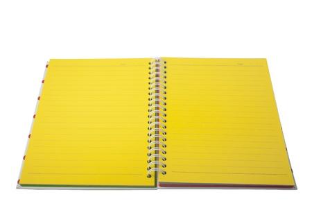 XXL isolated: Notebook Stock Photo - 8556324
