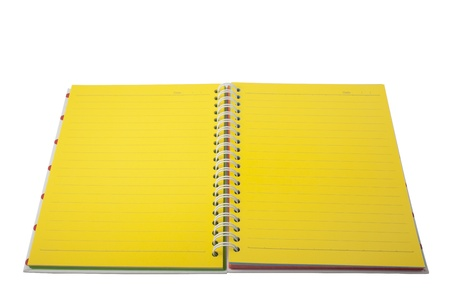 XXL isolated: Notebook Stock Photo - 8556324
