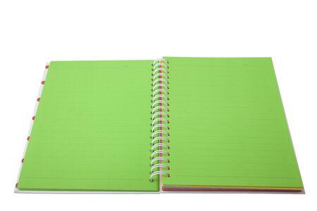 XXL isolated: Notebook Stock Photo - 8556355
