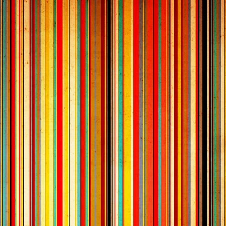 banding: Vintage paper with color striped Stock Photo
