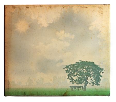 Vintage photo photo