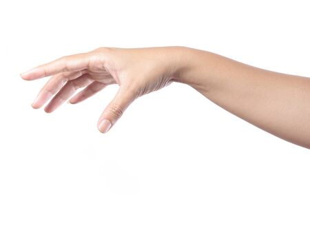 male parts: hand