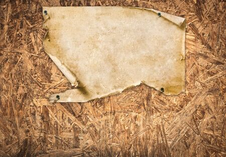 vintage paper on wooden wall texture Stock Photo - 9375691