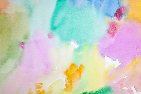 scrapbook homemade: Abstract Water Color