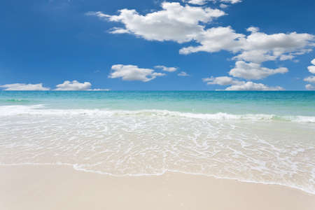 White sand and blue sky Stock Photo - 9380682
