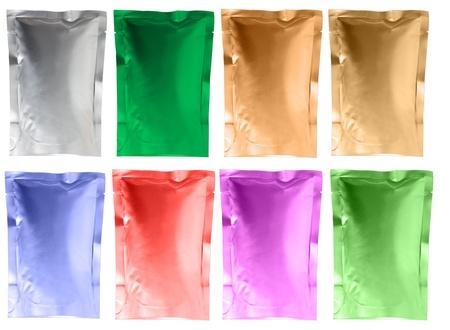 aluminum foil bag    photo